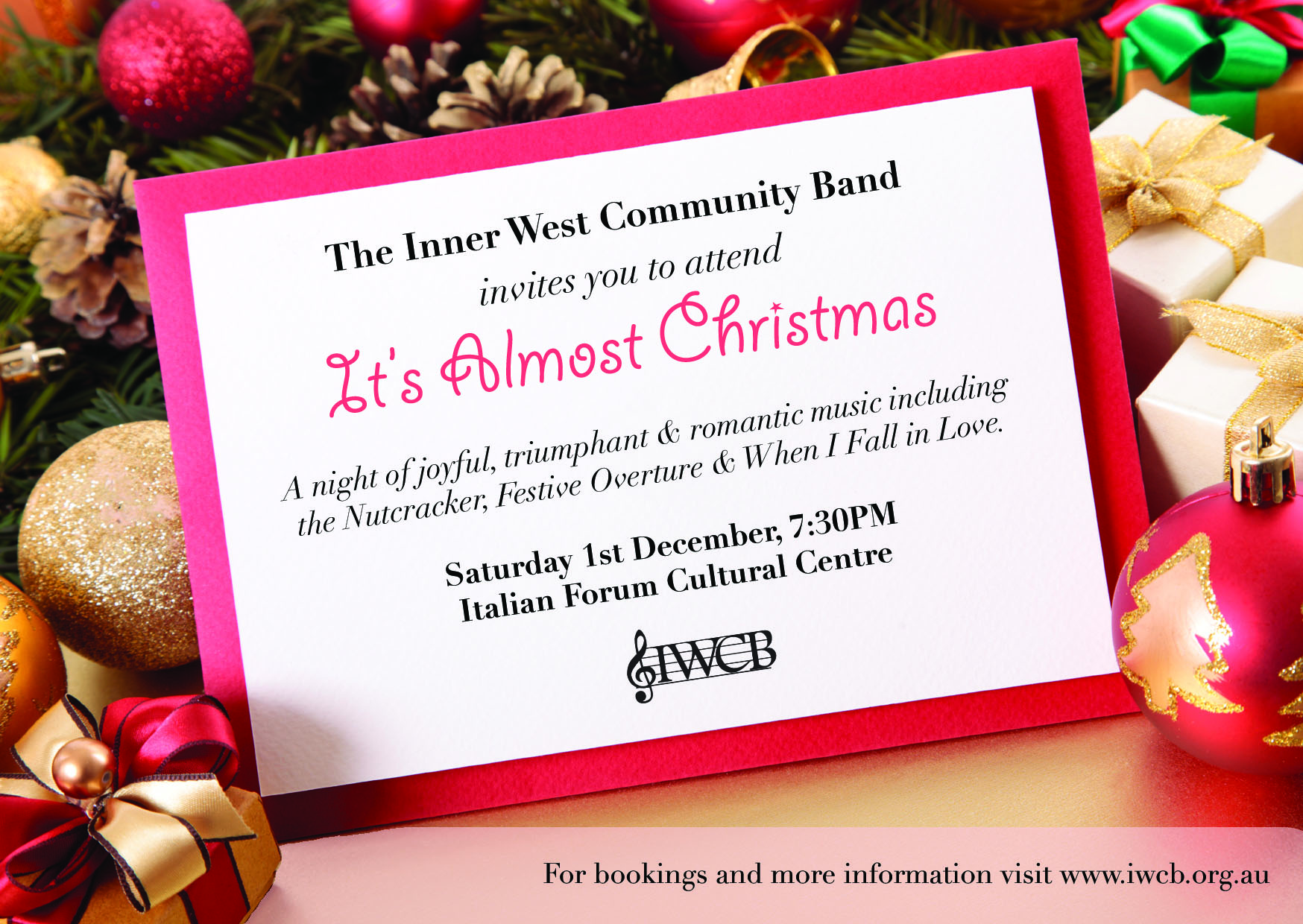 TryBooking - IWCB: It\'s Almost Christmas